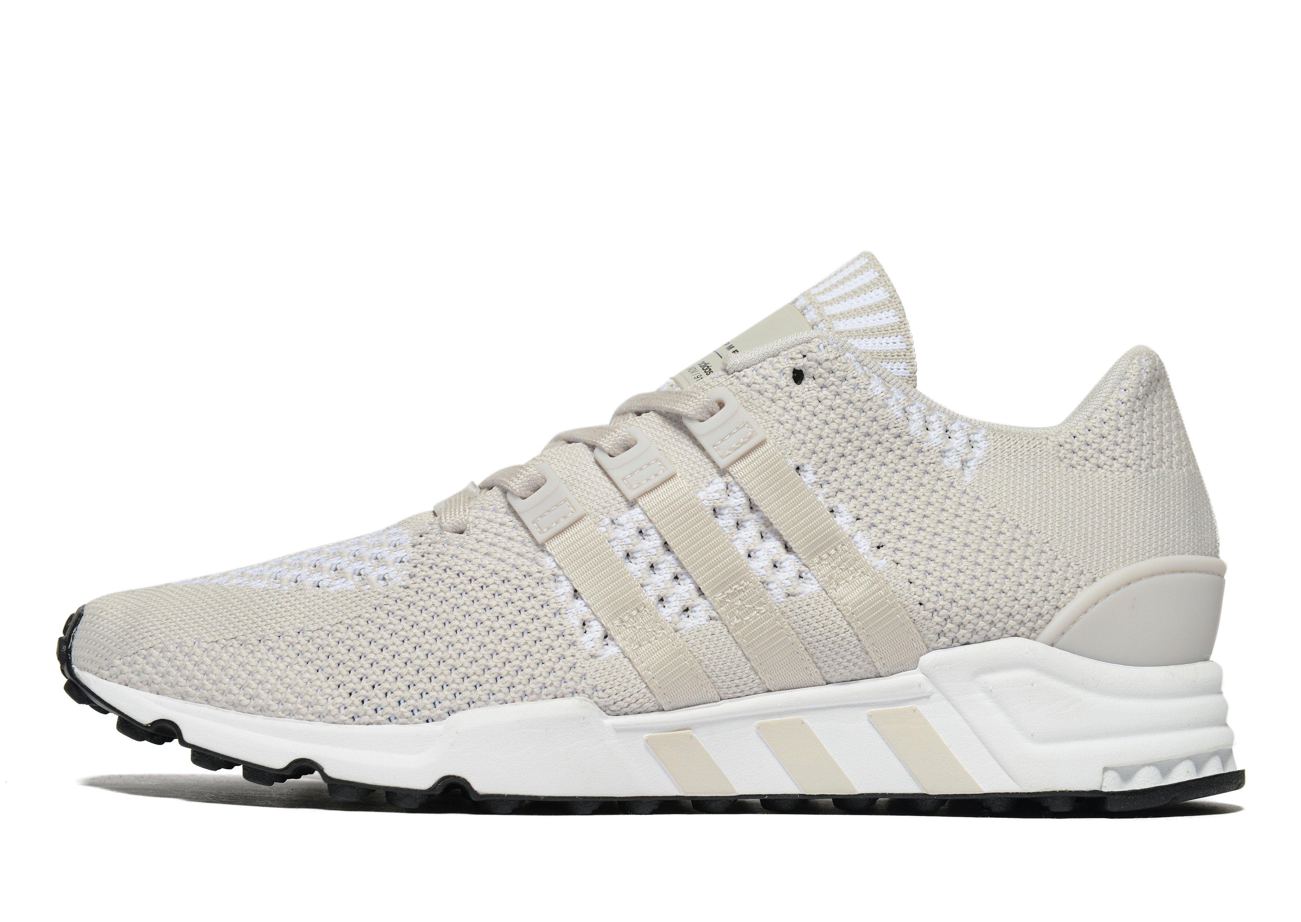 cheap sale look for new product Adidas Originals White Eqt Support Rf Primeknit for men
