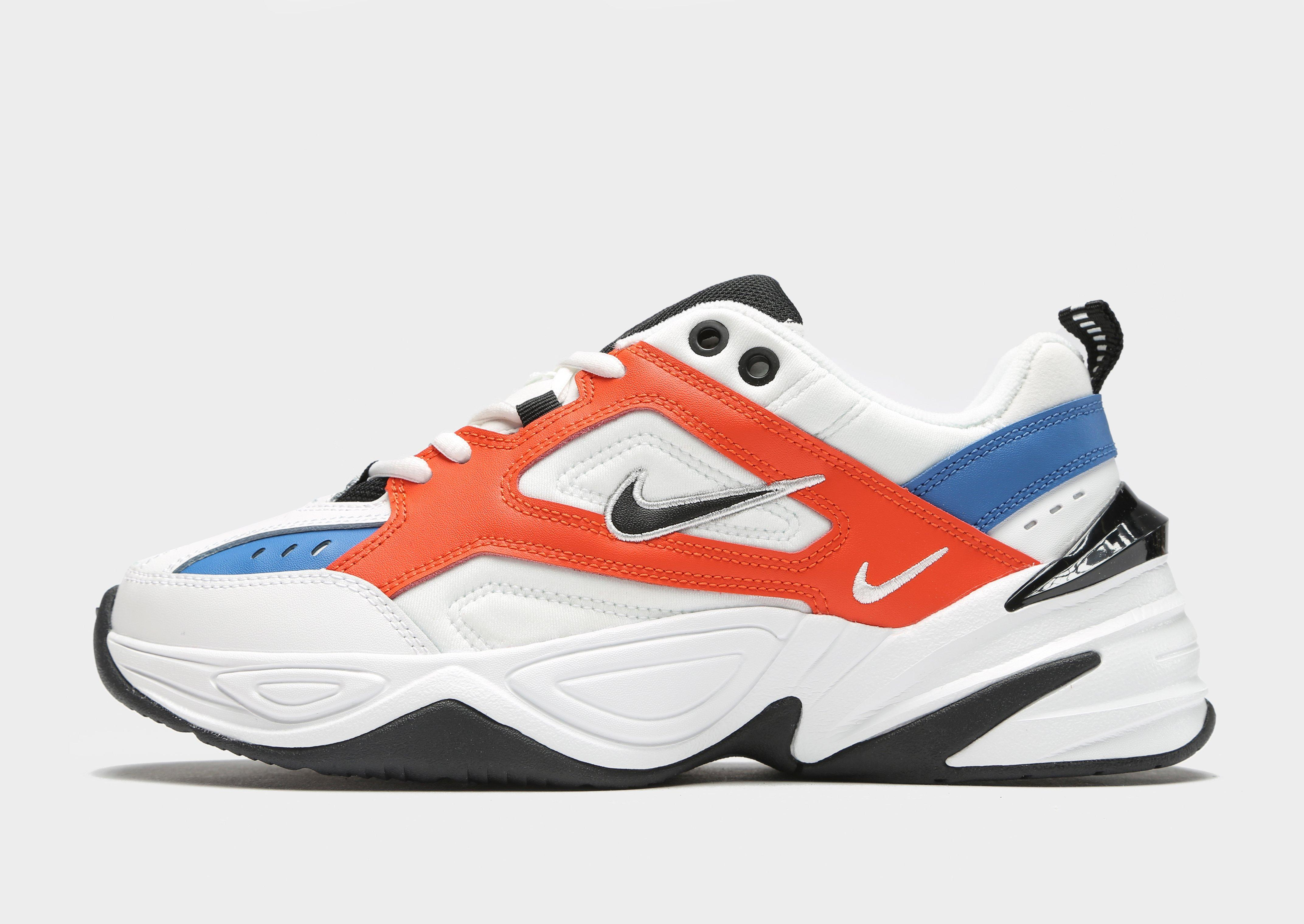 Nike White Red And Blue M2k Tekno