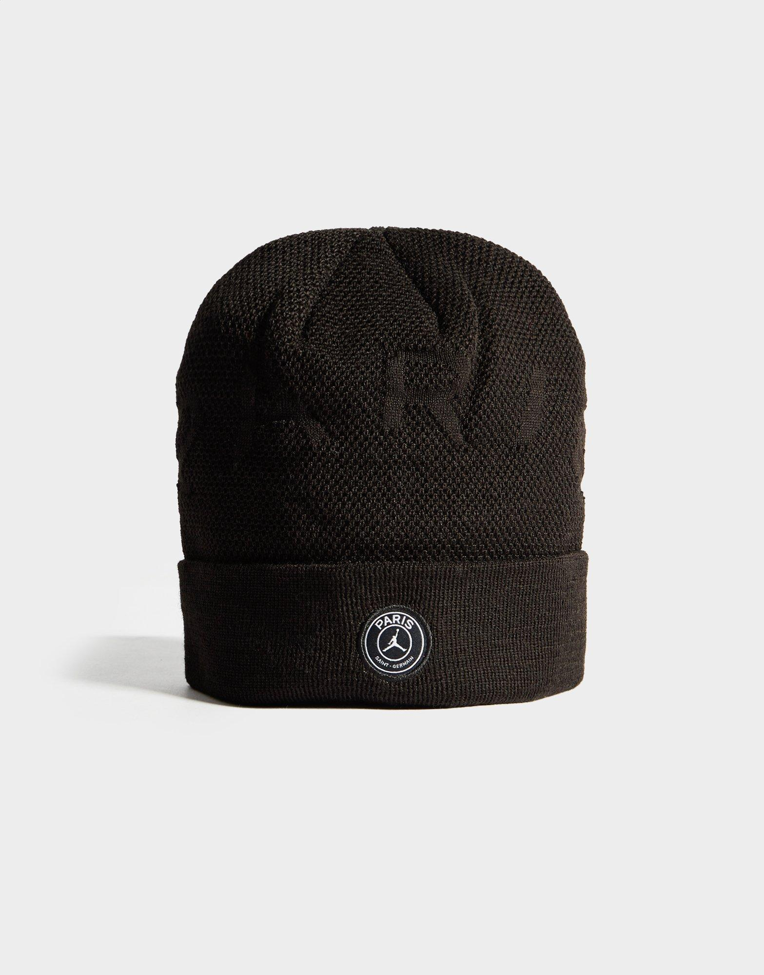 Nike Wool X Paris Saint Germain Beanie Hat In Black For Men Lyst