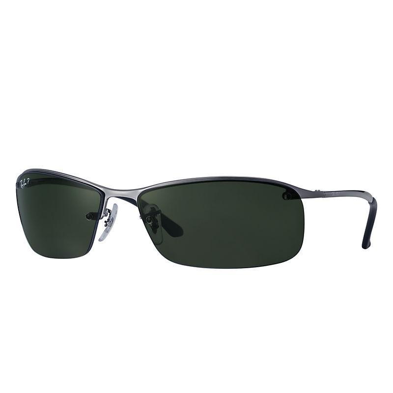 e69c1113dc6b69 Lyst - Ray-Ban Top Bar Polarized Sunglasses in Black for Men