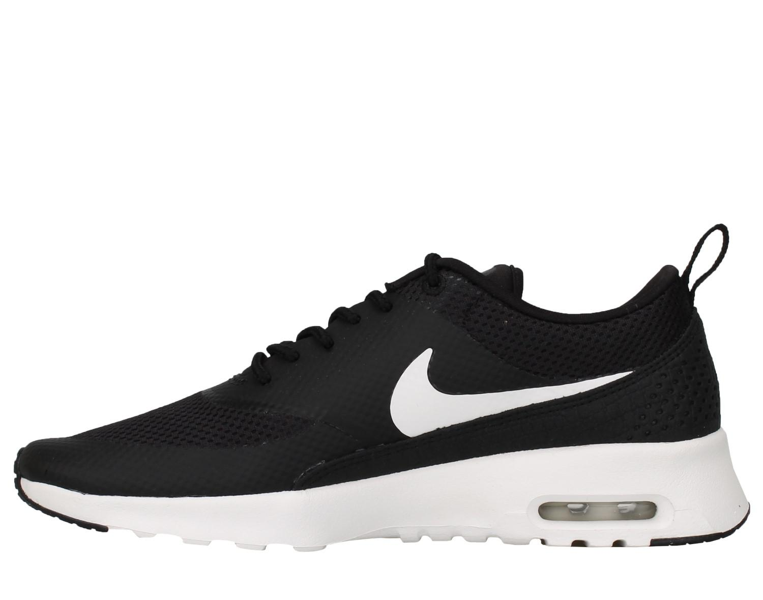Nike Womens Air Max Thea Running Shoe BlackSummit White 8.5 B(M) US