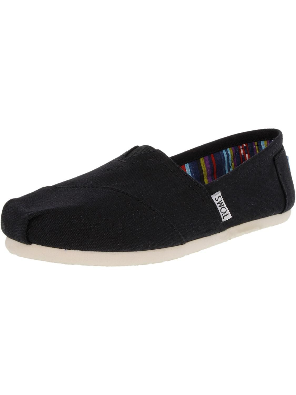 23d10904ee2 TOMS - Classic Canvas Black Ankle-high Flat Shoe - 5.5m for Men -. View  fullscreen