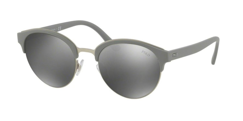 Polo Ralph Lauren PH4127 Sonnenbrille Mattes Silber 56426G 51mm EzSUwCOR