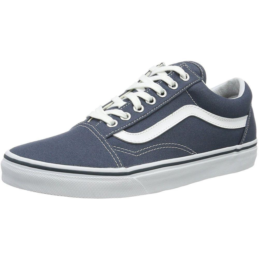 63d6aeb532 Lyst - Vans Va38g1mj7-080d Unisex Old Skool Dark Slate Canvas   True ...