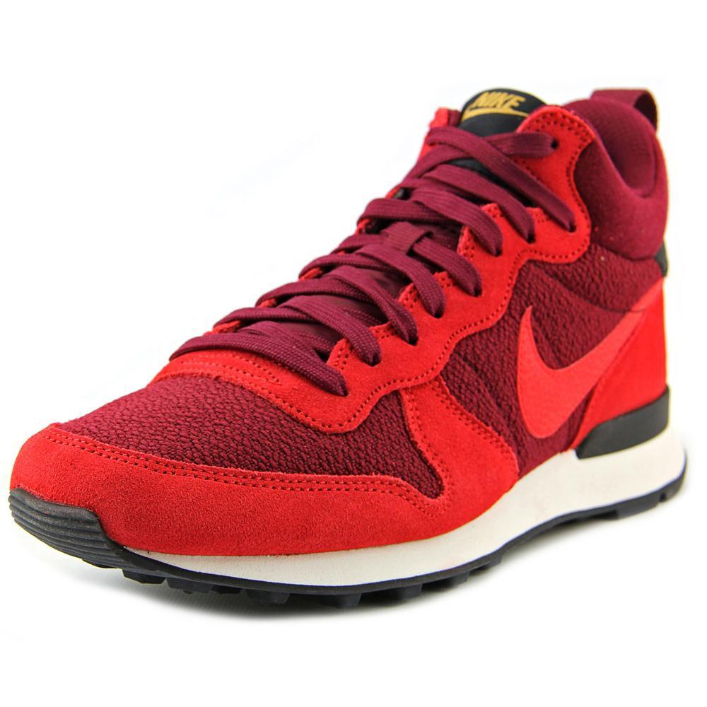 new product a69e4 f2ec8 ... lyst nike internationalist mid sneaker in red for men