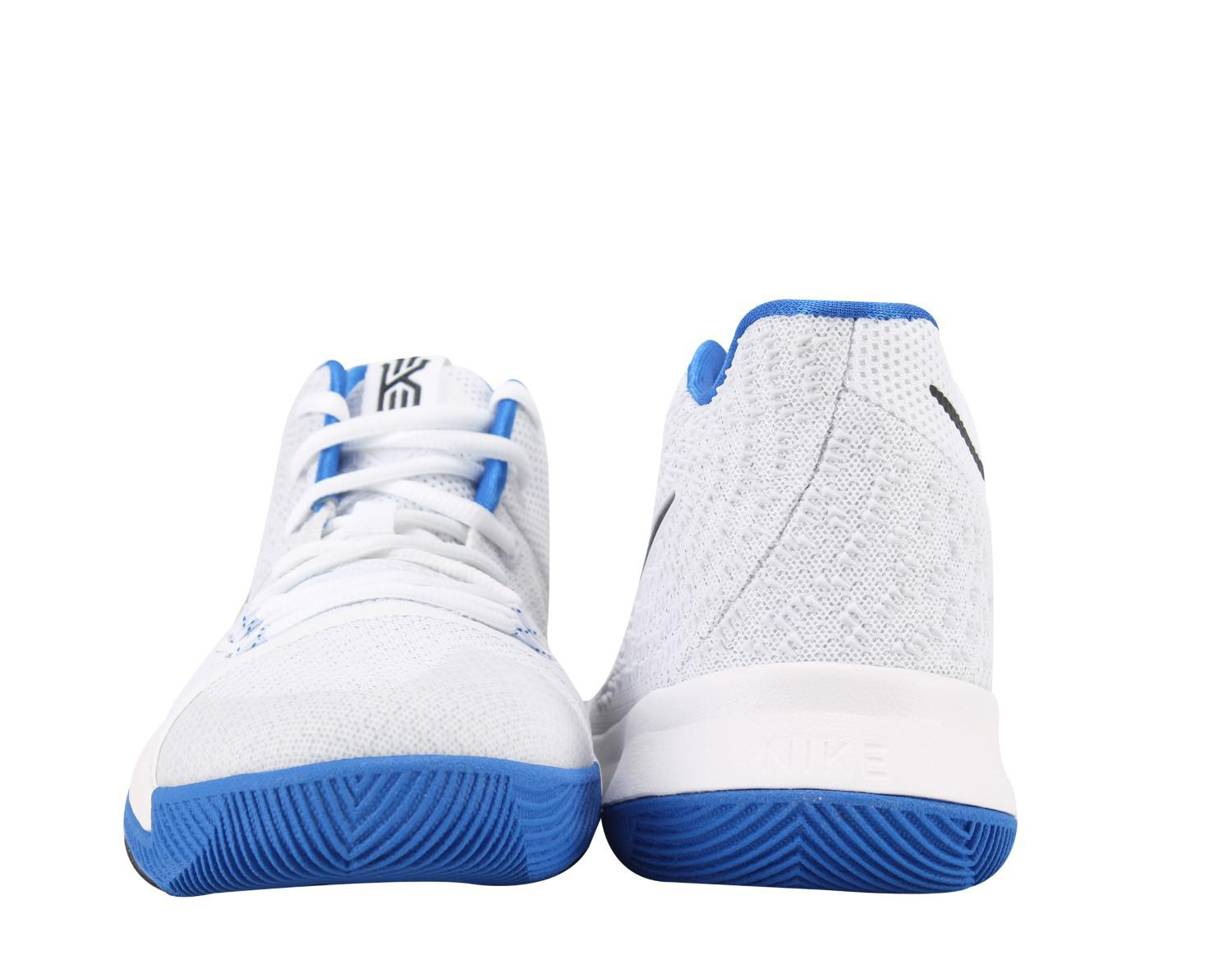 Lyst - Nike Kyrie 3 (gs) Big Kids Basketball Shoes Size 6.5 in Blue ... 2e1300be7