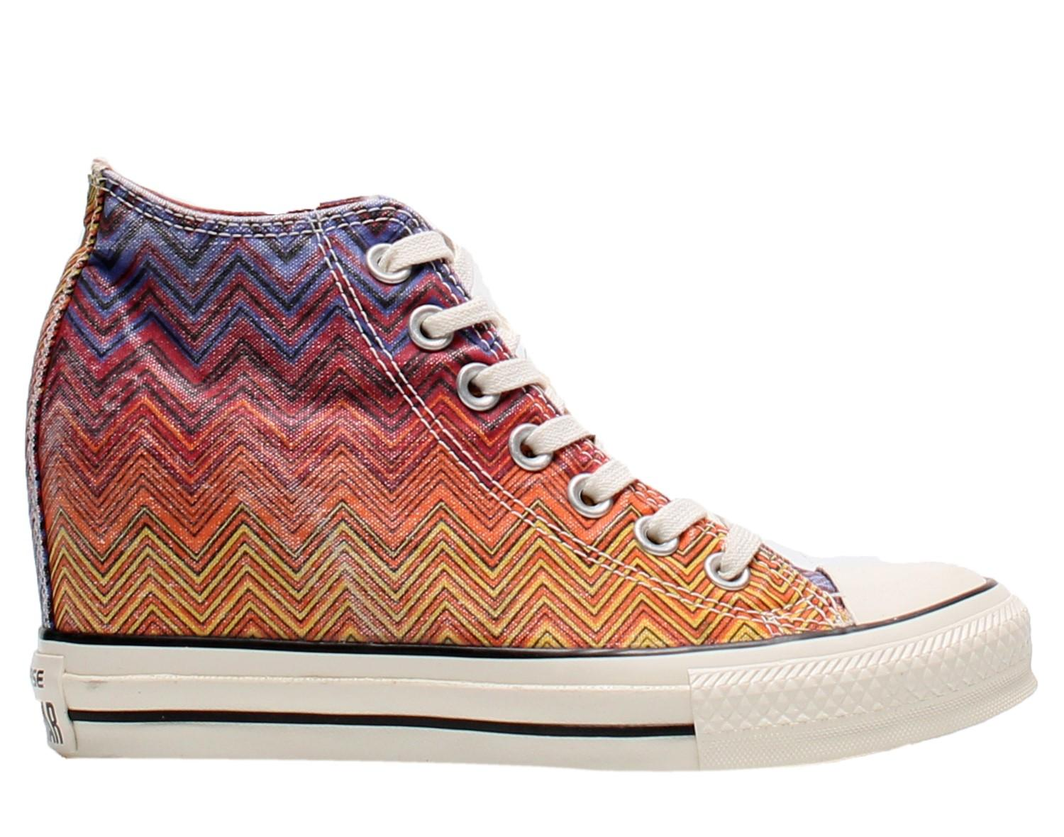 c6c6c6c10d7e Lyst - Converse Chuck Taylor All Star Lux Washed Canvas Womens ...