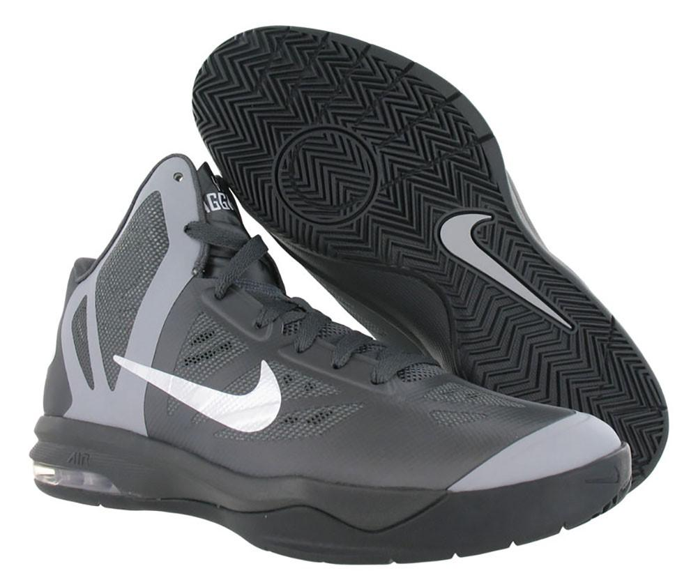 the latest f0ab7 d24c2 ... Lyst - Nike Air Max Hyperaggressor Basketball Shoes in Gray for Men ...