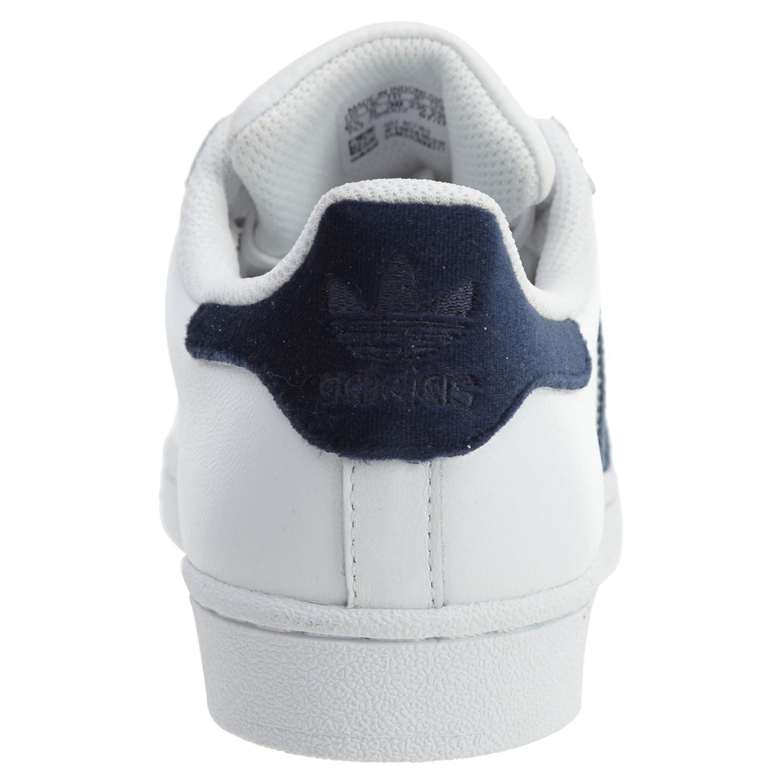 lyst adidas originals ac7163: superstar fashion sneakers white