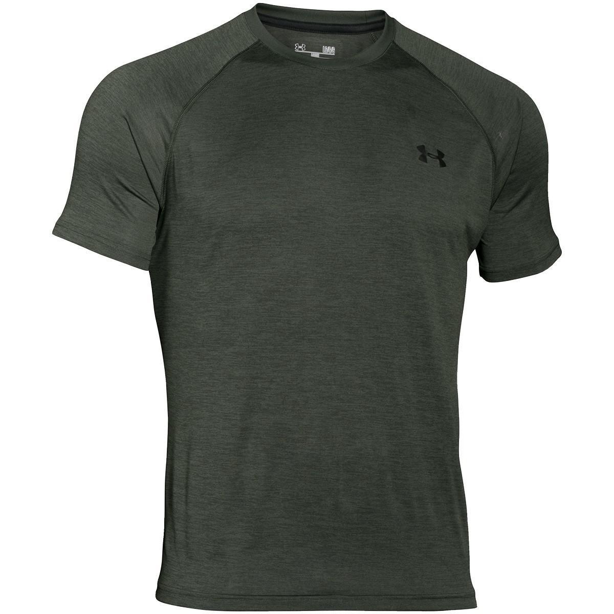 563dd35f Lyst - Under Armour Men Tech Short Sleeve T-shirt in Green for Men