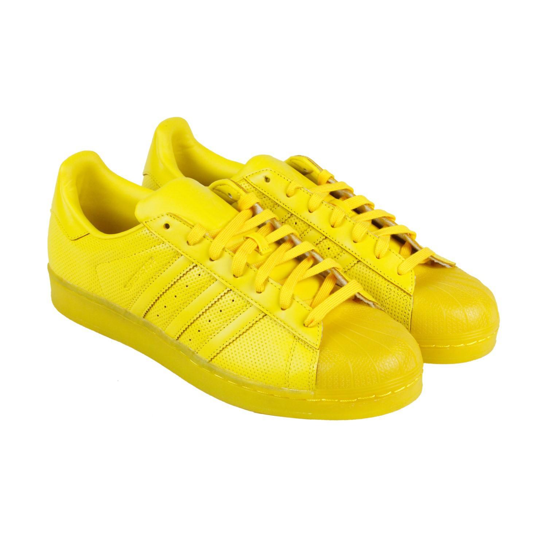 lyst adidas superstar adicolor originali eqt giallo mens merletto