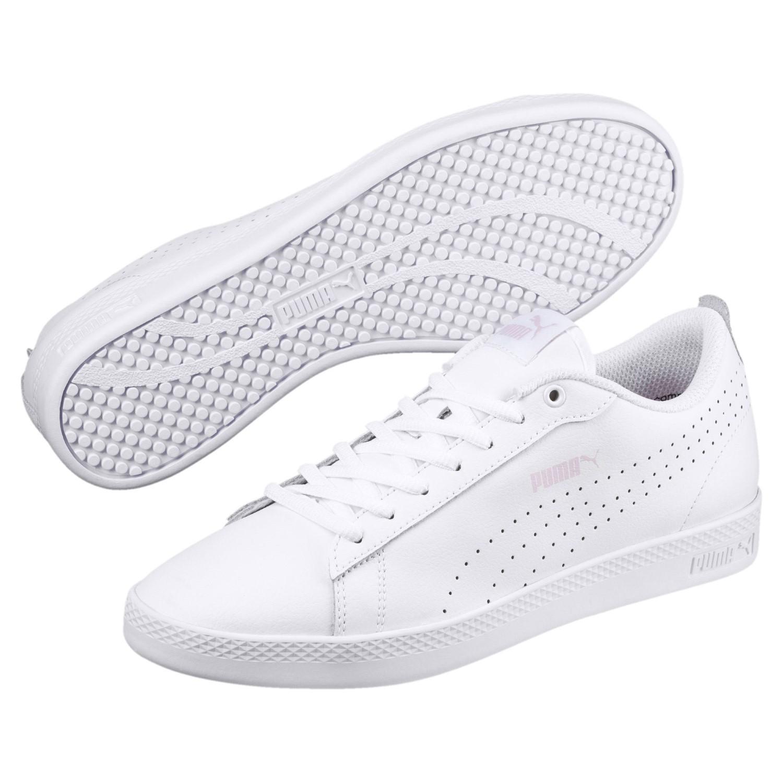 aa1c8dc71e0 Lyst - Puma Smash V2 L Perf Sneakers in White