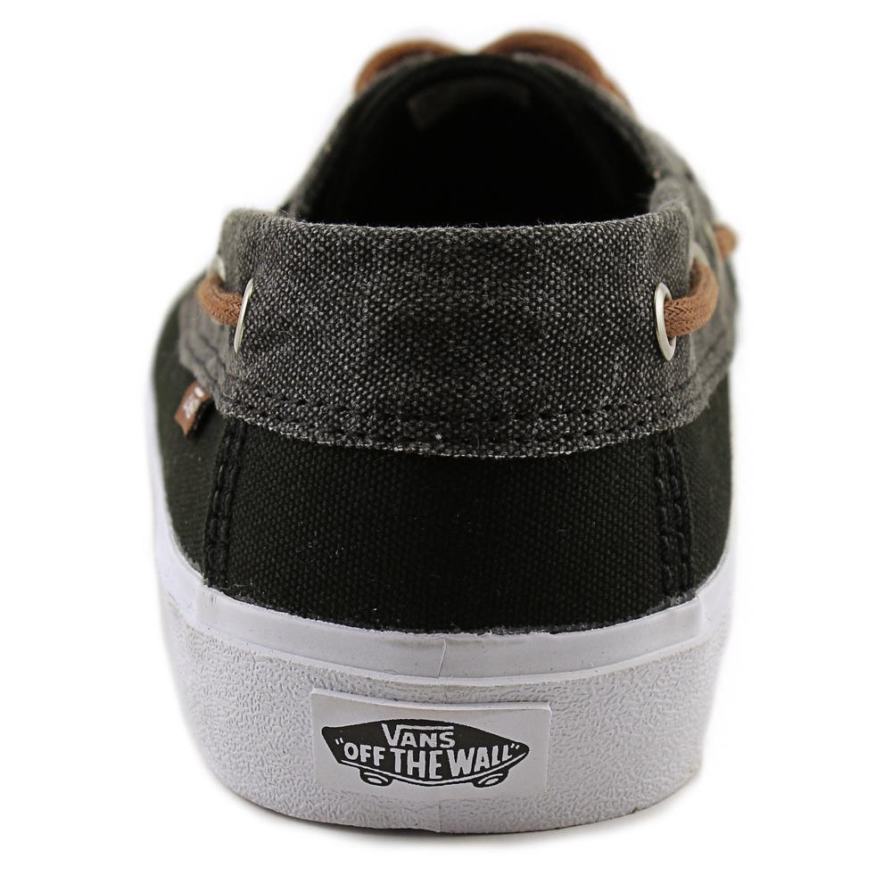 4477138fc68e86 Lyst - Vans Chauffeur Sf Men Us 10 Black Boat Shoe in Black for Men