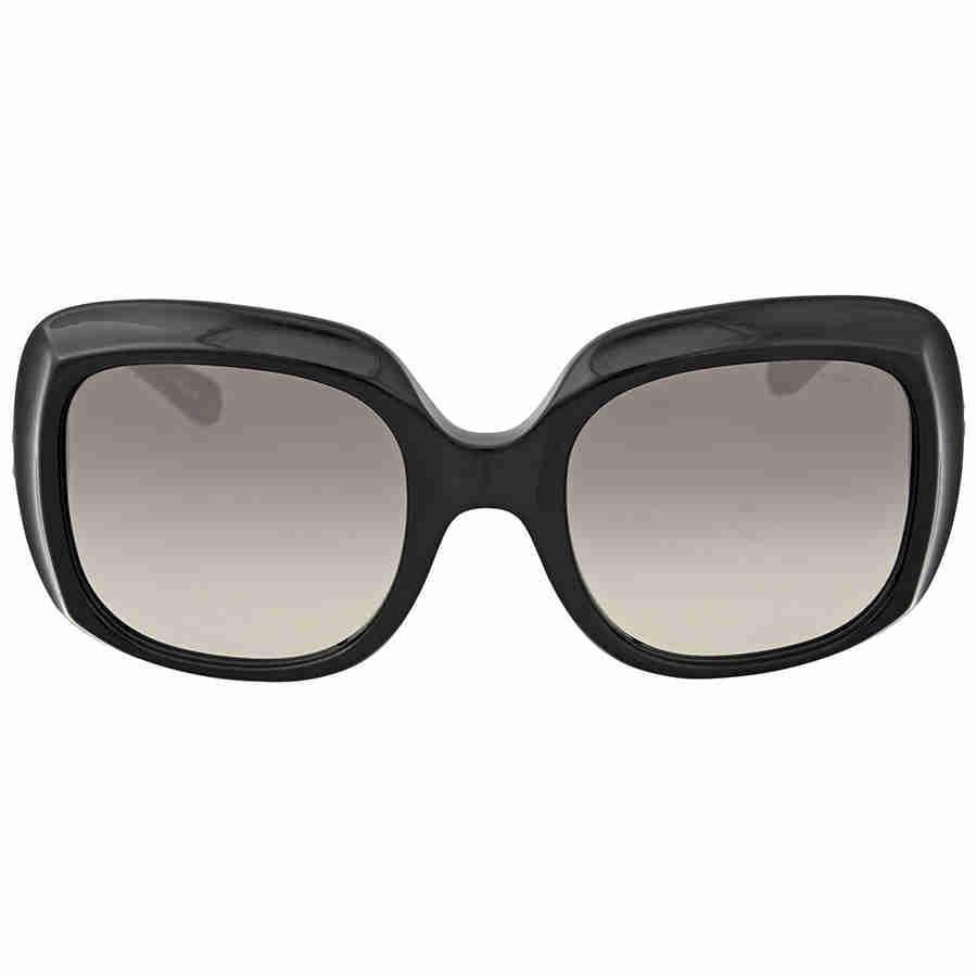 b06227295426 ... clearance coach hc8194 500211 53 black square sunglasses in black lyst  0eaa7 857c7