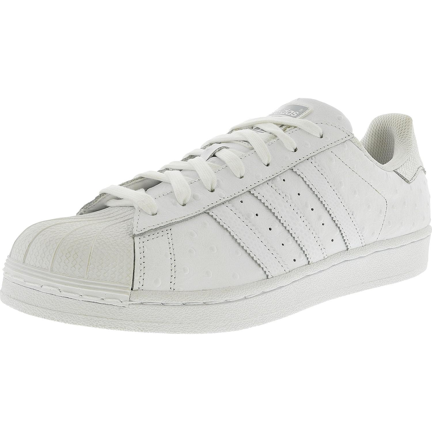 Lyst Adidas Superstar Ftw White Silver Metallic Ankle