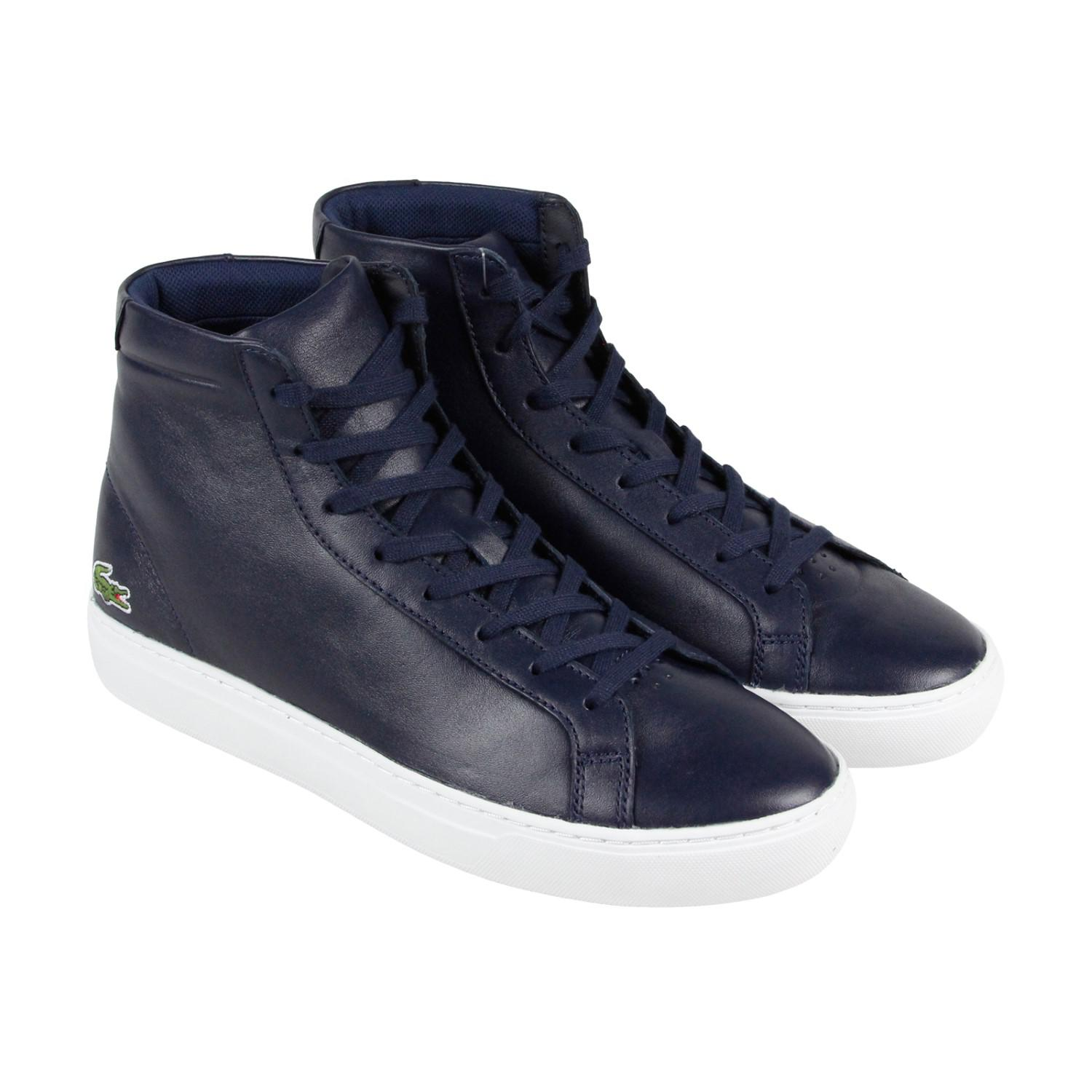 68158f9bd581 Lyst - Lacoste L.12.12 Mid 316 1 Cam Blue Mens High Top Sneakers in ...