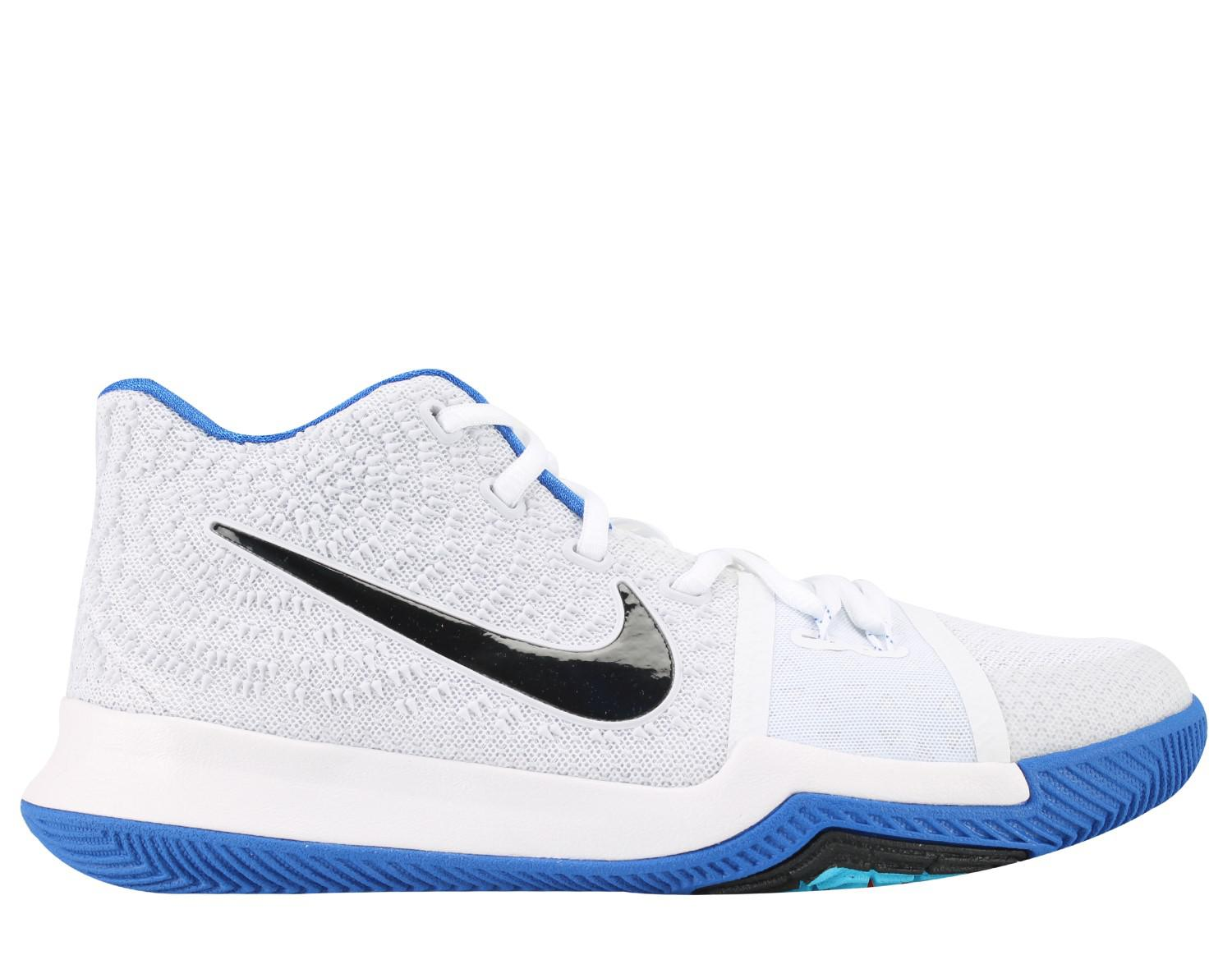 wholesale dealer 225d9 375fc Lyst - Nike Kyrie 3 (gs) Big Kids Basketball Shoes Size 6.5 in Blue ...