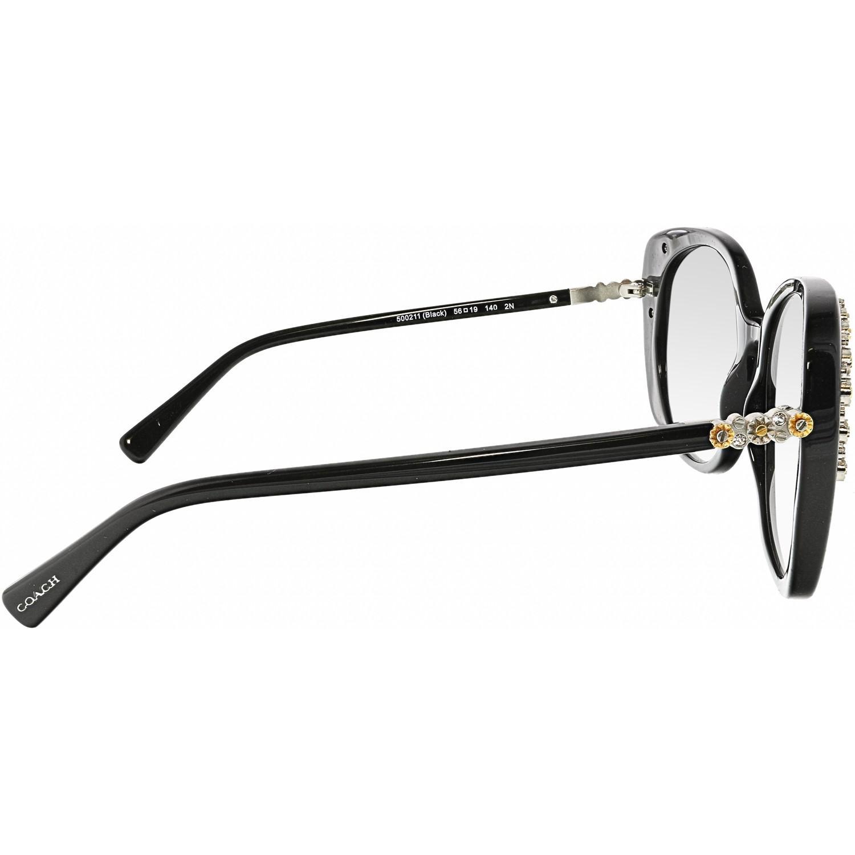 91c44d7e1d99 ... spain coach black hc8186b 500211 56 round sunglasses lyst. view  fullscreen 48d49 e52ab