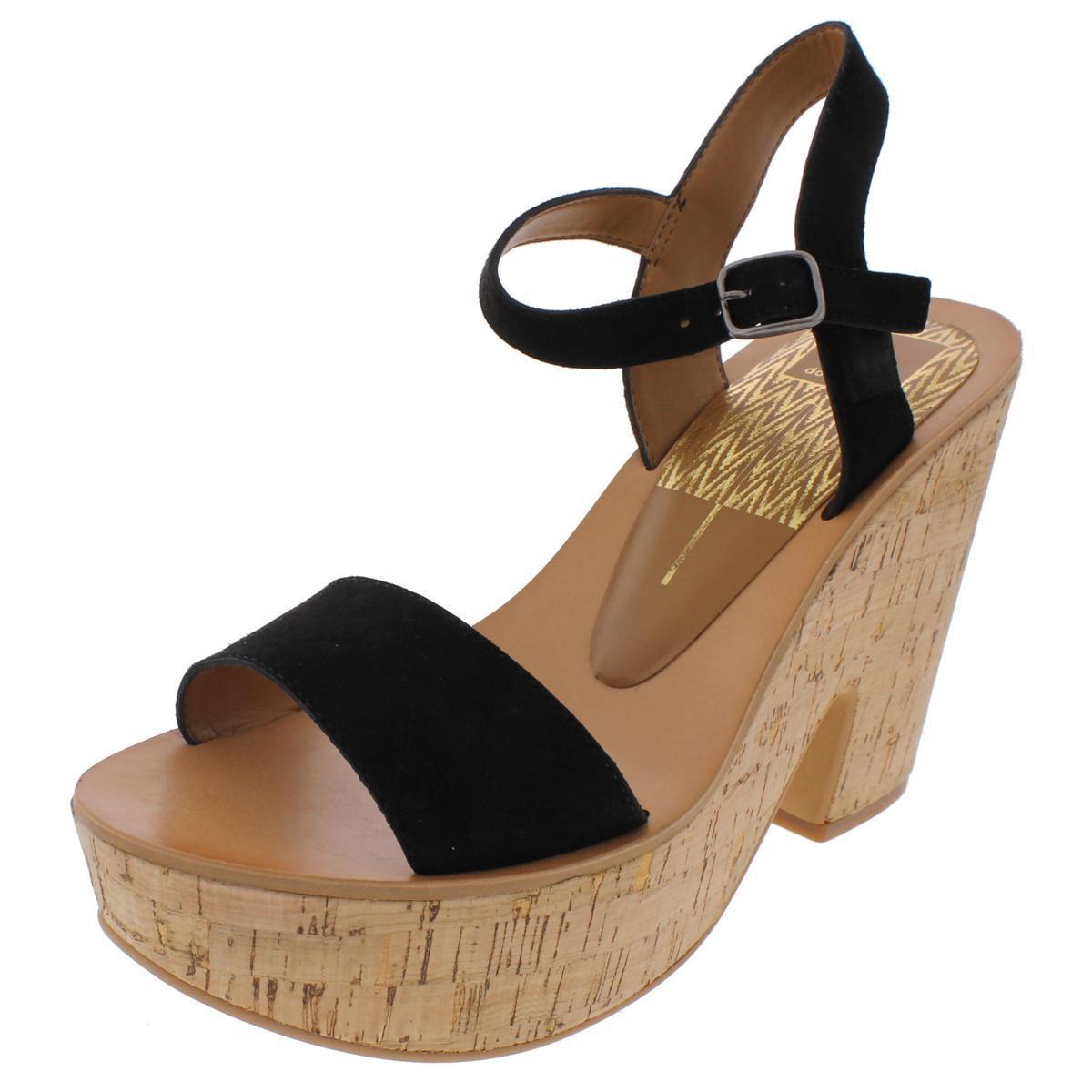 ca22009cda1 Lyst - Dolce Vita Randi Cork Open Toe Platform Sandals