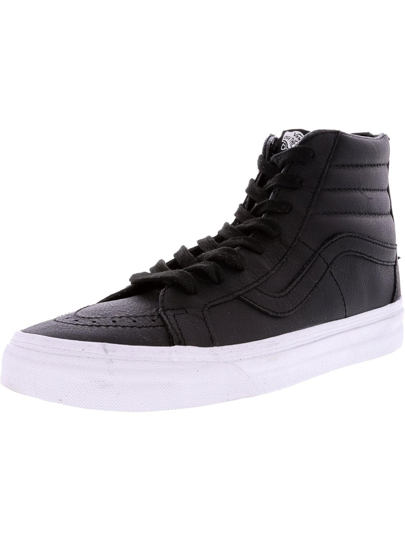 bf35b01cb4dc6a Lyst - Vans Sk8-hi Reissue Zip Premium Leather High-top ...