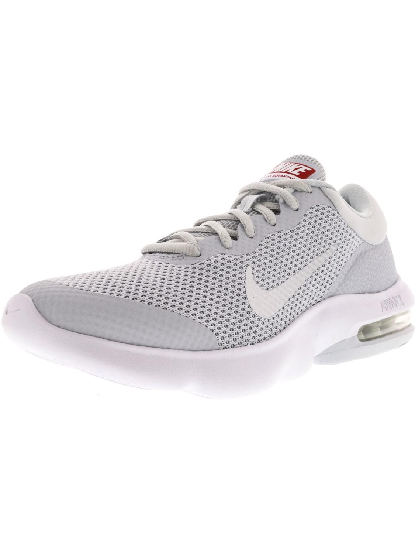 5fb5550583c5 Lyst - Nike Air Max Advantage Pure Platinum   White Wolf Grey Ankle ...