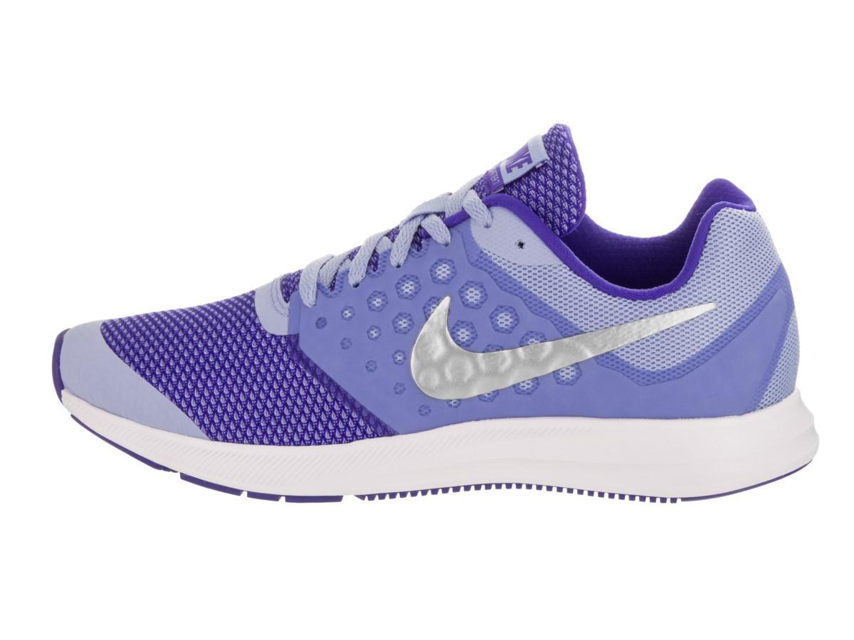ddd6c2ce4dc61 Lyst - Nike Kids Downshifter 7 (gs) Aluminum metallic Silver Running ...