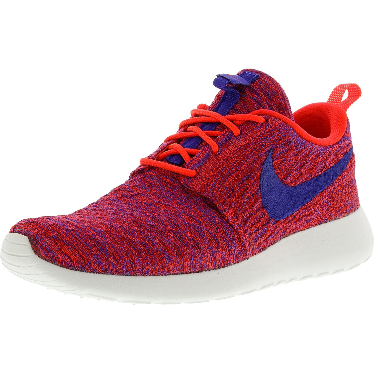 650feaa92f275 ... shoes sz 9 74515 79373  czech lyst nike roshe one flyknit ankle high  running shoe 8m in red 4db77 d6b52