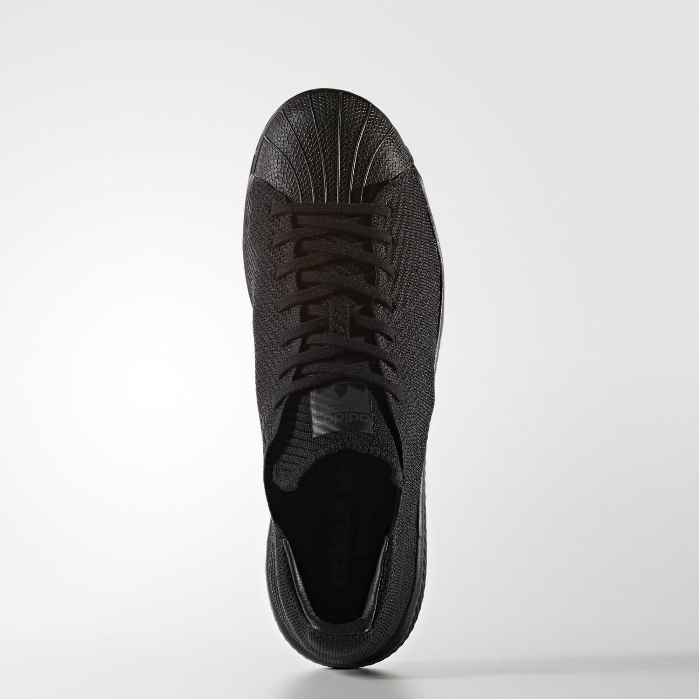 147d1e2b7e0a Lyst - Adidas Originals Superstar Bounce Primeknit Core Black Core ...