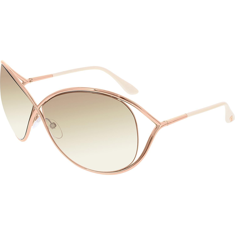 1aea73106705 Lyst - Tom Ford Ft0130 Miranda Butterfly Sunglasses