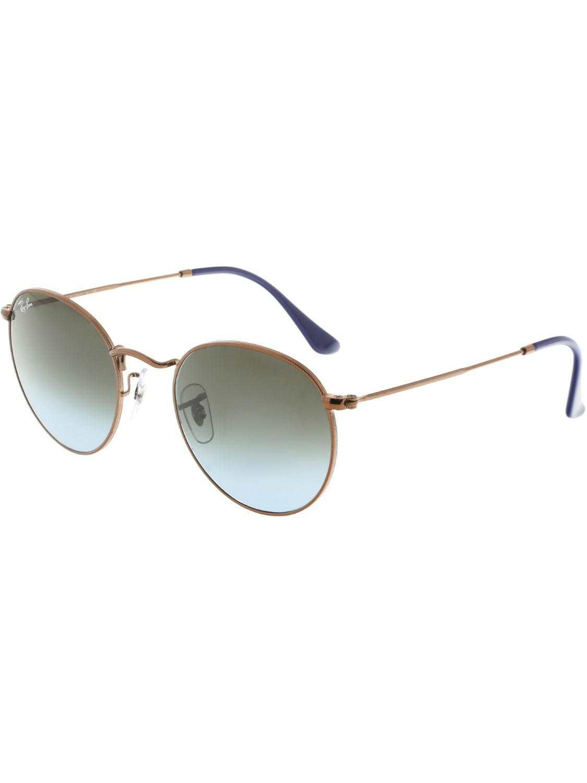 0e66810138321 Lyst - Ray-Ban Round Metal Bronze-copper Sunglasses in Metallic