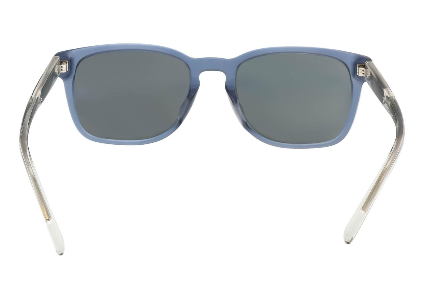 5482414b4f9 Lyst - Burberry Be4222f 301387 Clear Blue Square Sunglasses in Blue