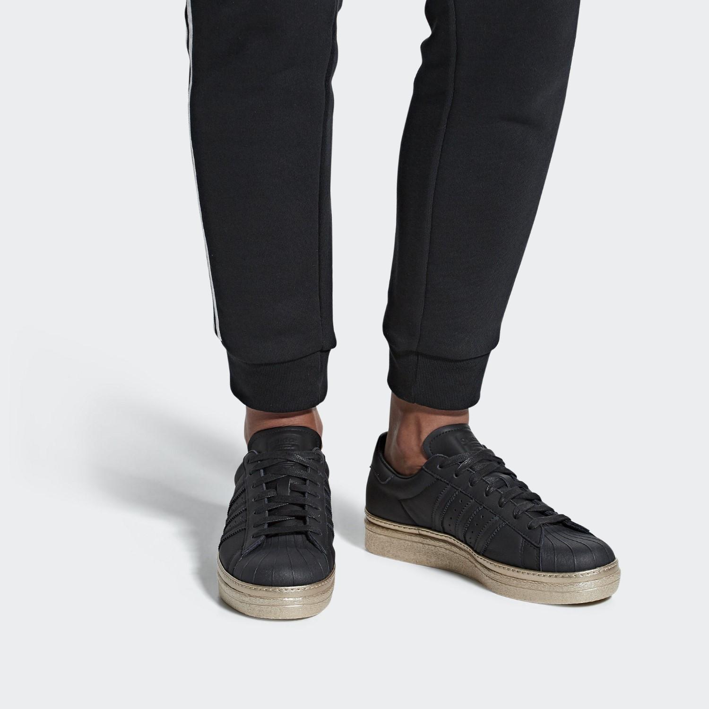 310887fec97133 Adidas - Black Superstar 80s New Bold Shoes - Lyst. View fullscreen