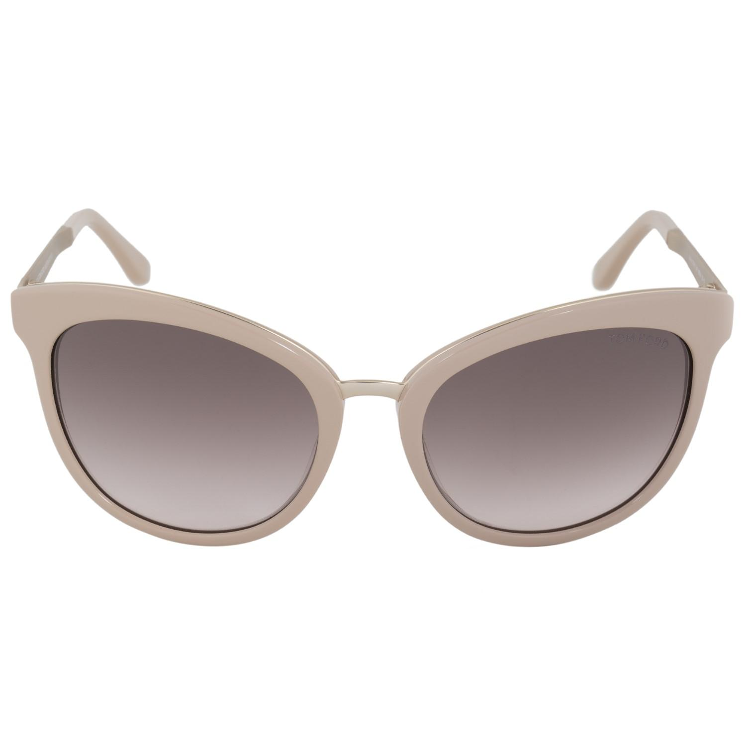 7195c469f348 Lyst - Tom Ford Ft0461 Sunglasses Pink   Brown Rose in Pink