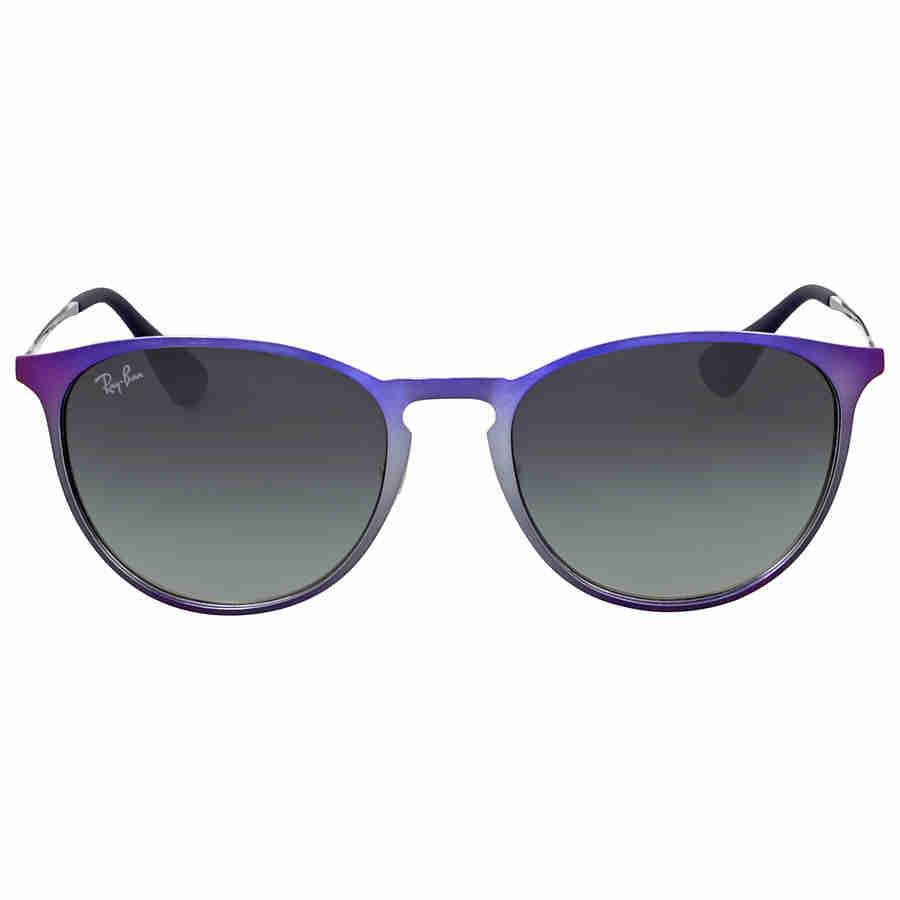 6a75a0c941 Lyst - Ray-Ban Erika Violet Frame Grey Gradient Sunglasses in Gray
