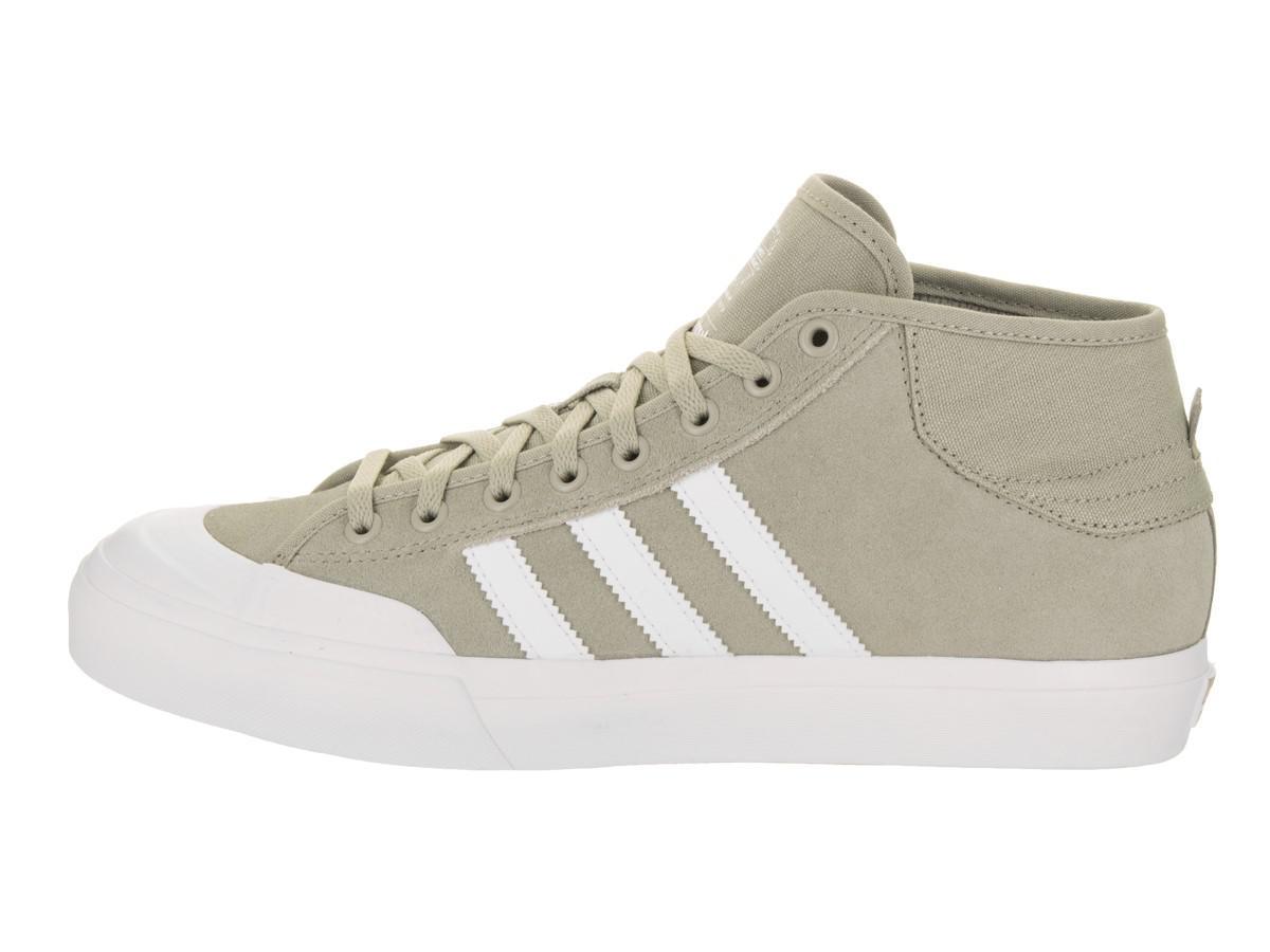 best sneakers 7867c 122fa Lyst - adidas Matchcourt Mid Sesamewhitesesame Skate Shoe 11