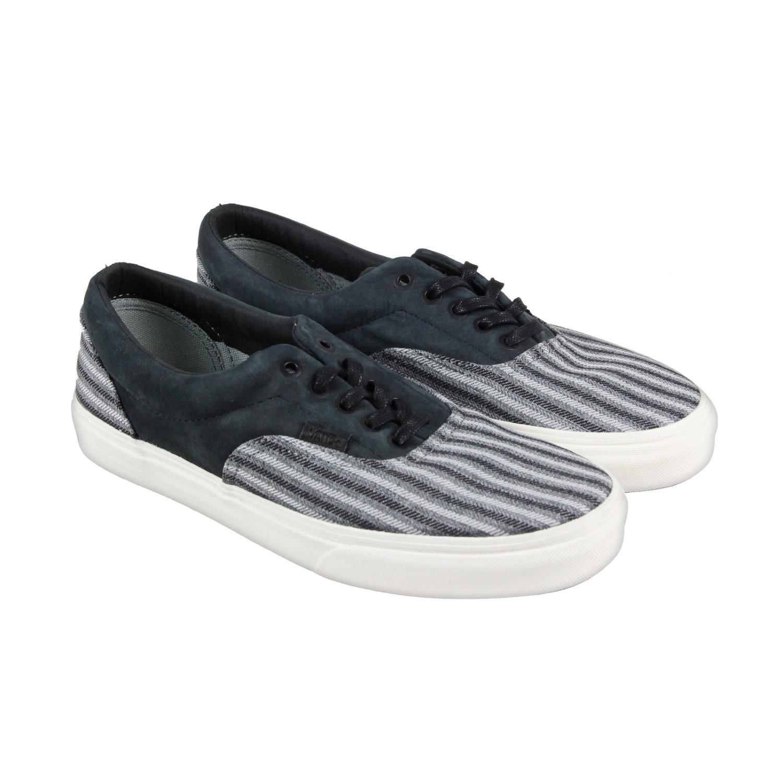 3644b74137 Lyst - Vans Era Ca Italian Weave Nubuck Black Mens Lace Up Sneakers ...