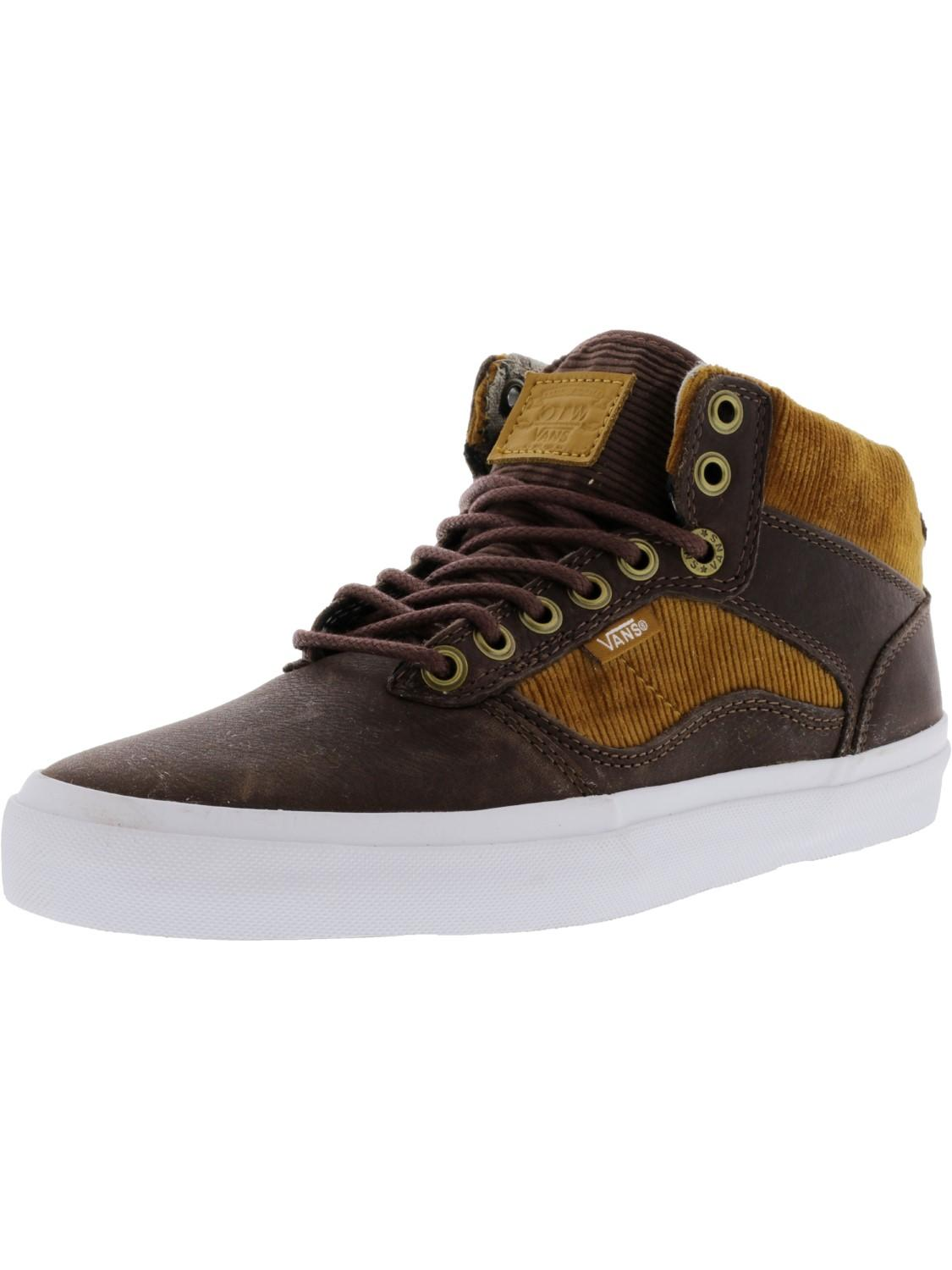 2c43f714a7e044 Lyst - Vans Bedford Duck Hunt   White Mid-top Leather Skateboarding ...