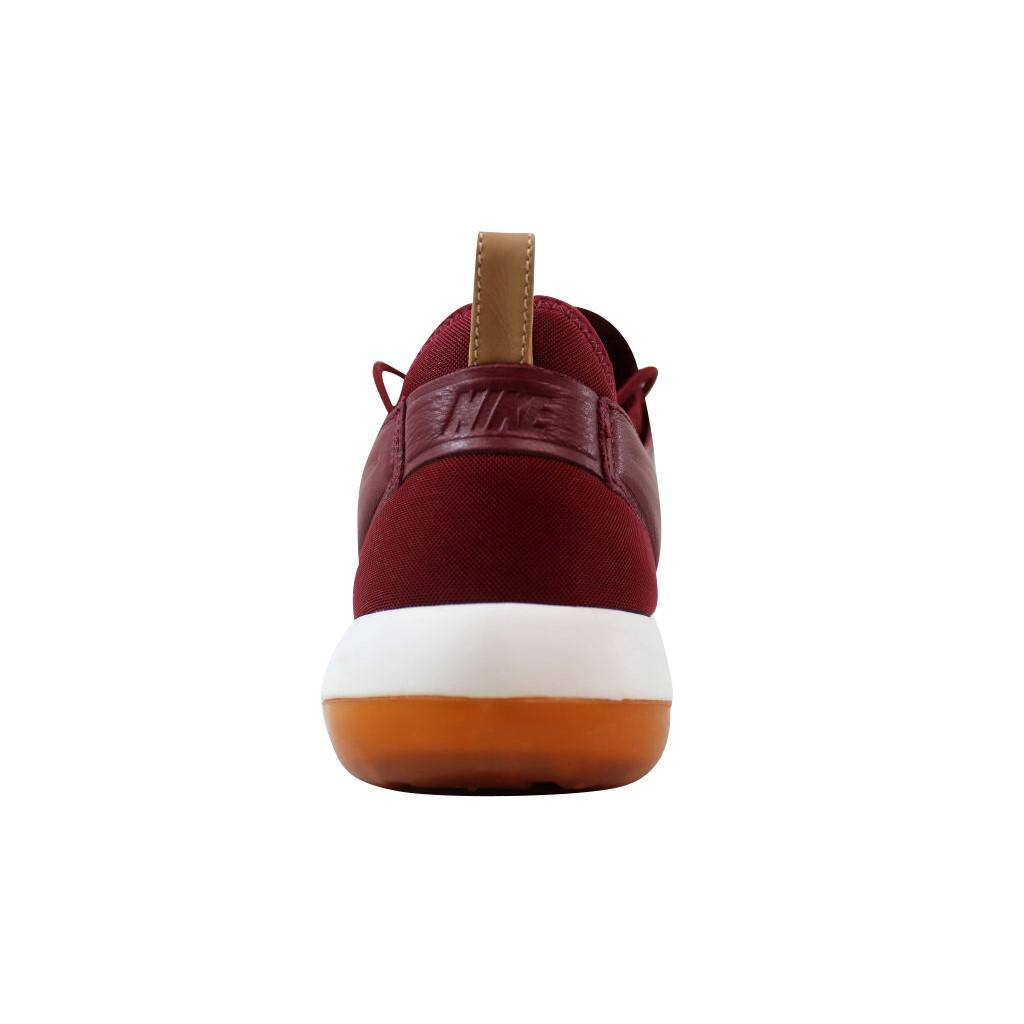 4ea0504b8926 Lyst - Nike Roshe Two Leather Premium Teamred 881987-600 in Red for Men