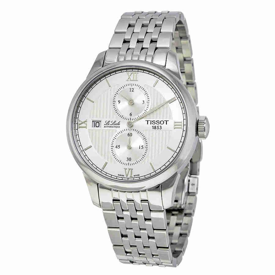 b2cfd504b Lyst - Tissot Le Locle Automatic Chronograph Watch T006.428.11 ...