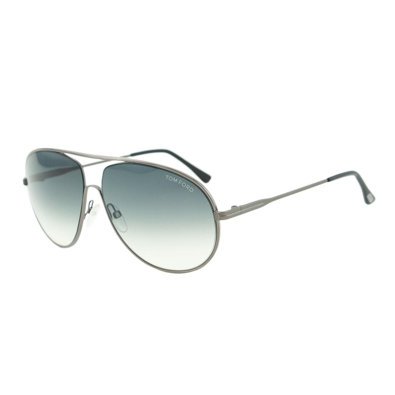 6a5292bd1a Tom Ford - Black Cliff Tf 450 09b Silver Unisex Aviator Sunglasses - Lyst.  View fullscreen