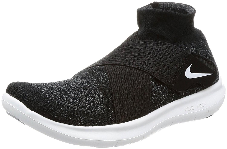 40b1efc8b8a1 Lyst - Nike Free Rn Motion Flyknit 2017 Running Shoe 7.0 in Black ...