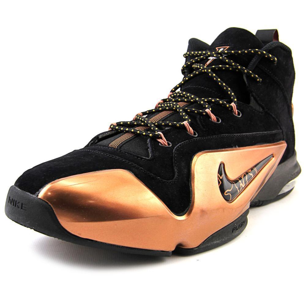 Nike. Zoom Penny Vi Men Us 10.5 Black Sneakers