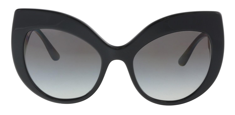 dfef07aeebbc Lyst - Dolce   Gabbana Dg4321 501 8g Cat Eye Sunglasses in Black