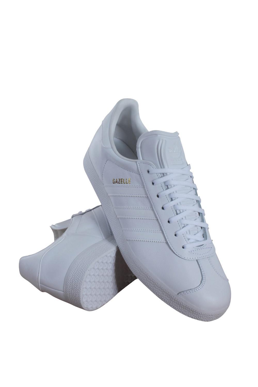 316a9774a4 Lyst - adidas Gazelle Originals Ftwwht/ftwwht/goldmt Casual Shoe 11 ...