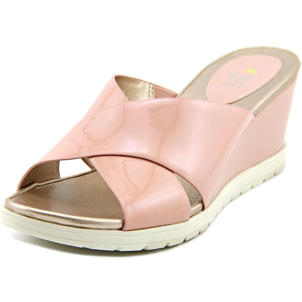 fcd82e58728 Lyst - Easy Spirit E360 Hartlynn Women Us 10 Pink Wedge Sandal in Pink