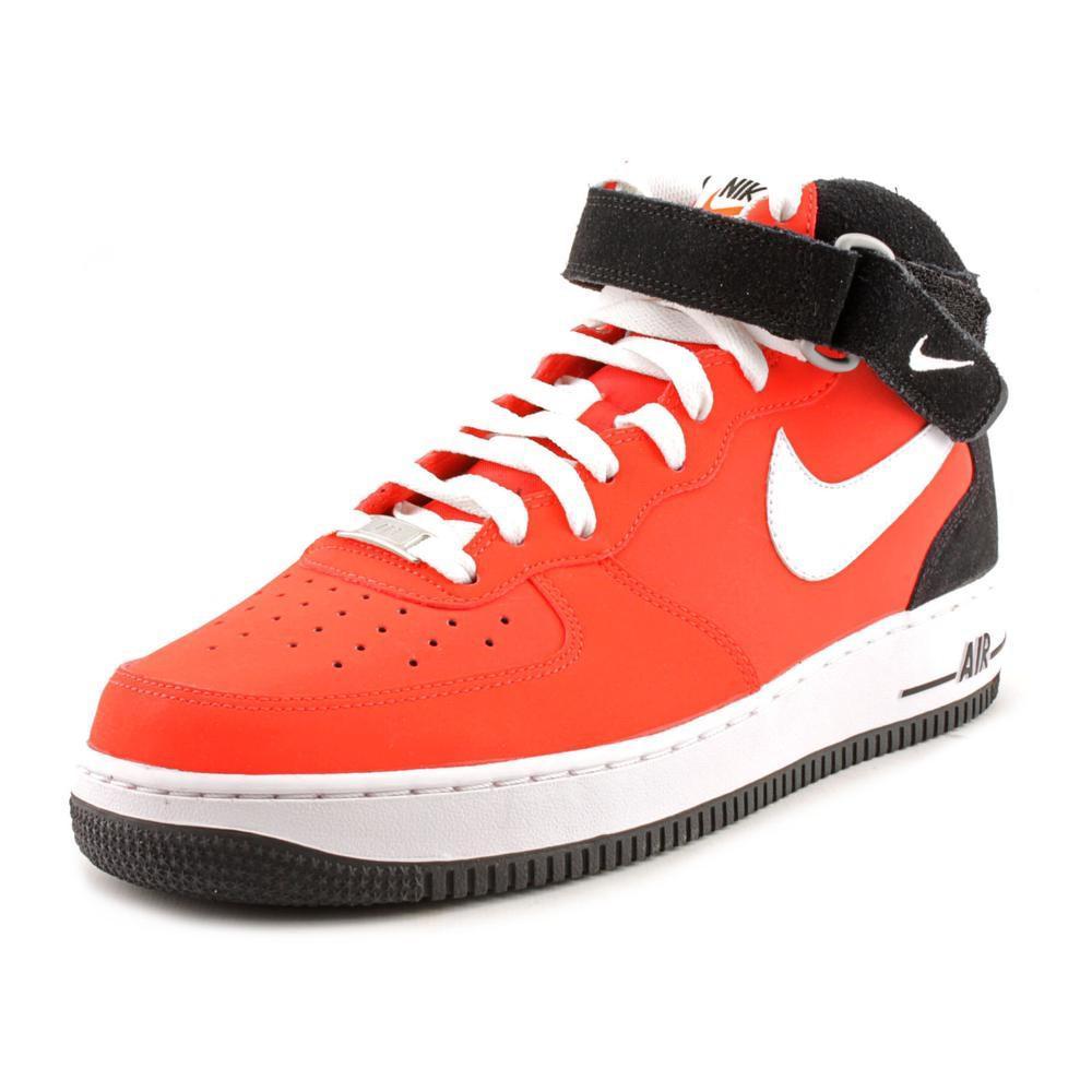 d4c5f2e8b4b Lyst - Nike Air Force 1 Mid  07 Men Us 11.5 Red Basketball Shoe in ...