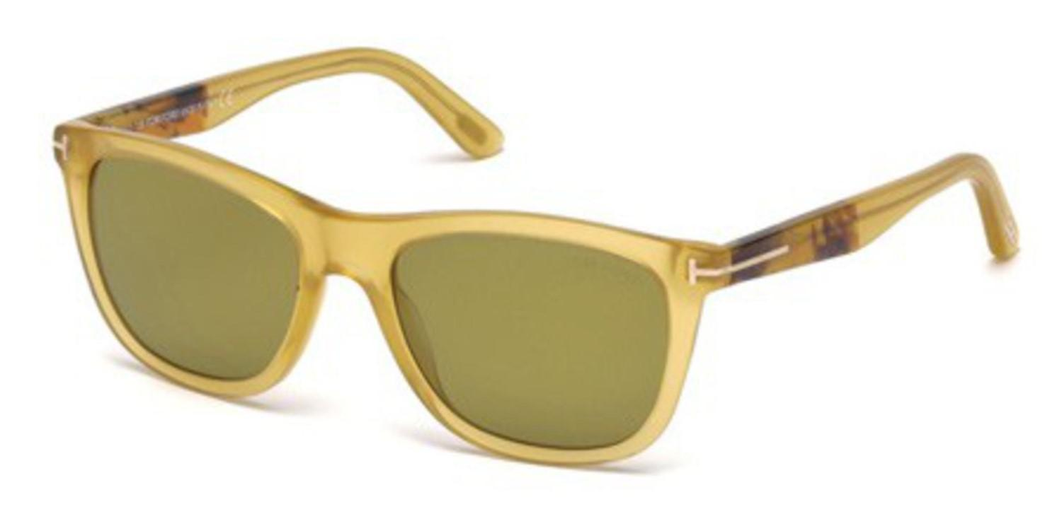 6489007f07 Lyst - Tom Ford Sunglasses Ft 0500 Andrew 41n Yellow other   Green ...