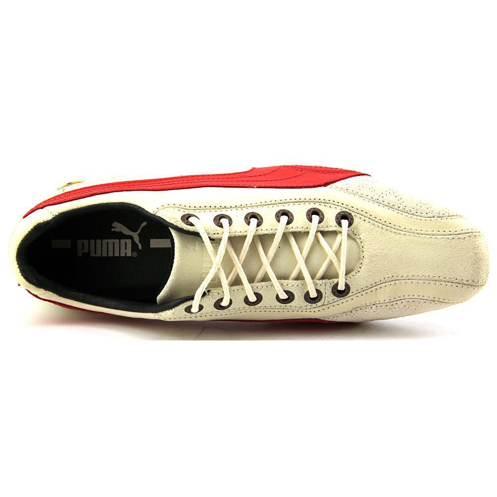 7a94c0abbbf Lyst - PUMA Ferrari Supersqualo Lo Women Us 8.5 Ivory Sneakers Uk 6 ...