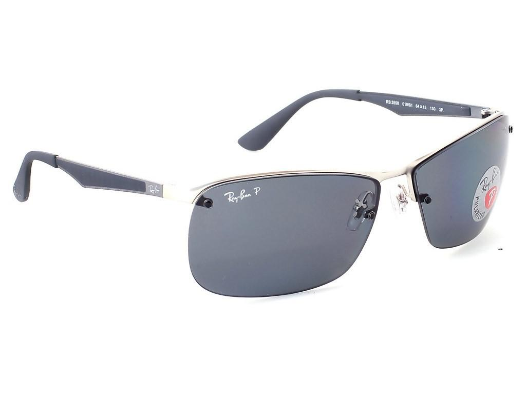0b304309523 Lyst - Ray-Ban 0rb3550 019 81 64 Matte Silver polar Grey Active ...