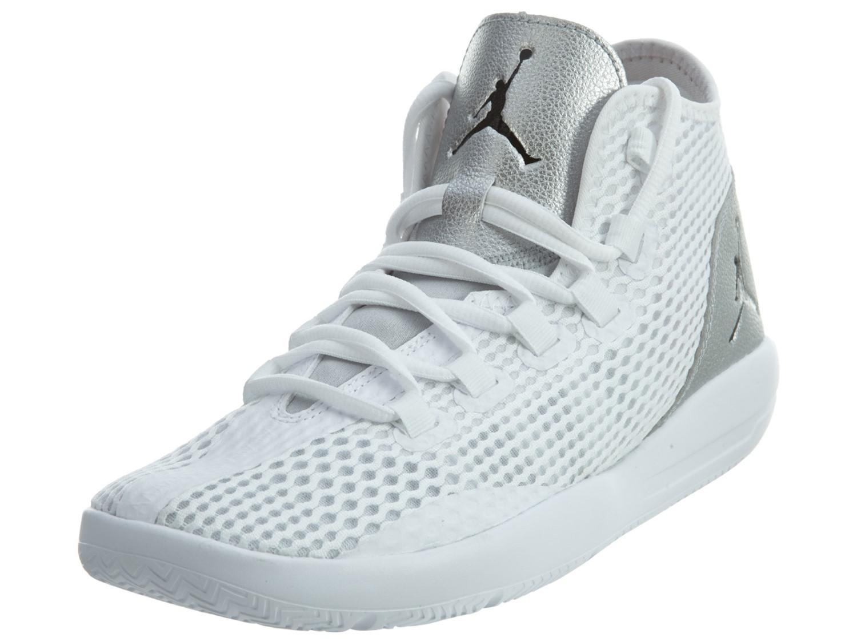 0e6821761f2f Lyst - Nike Jordan Reveal White   Black Metallic Silver Infrared 23 ...